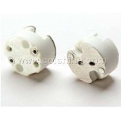 MR16 halogen lamp socket without wire