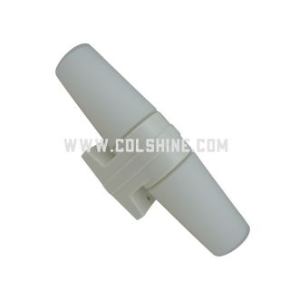 E14 porcelain fixture 409 white color