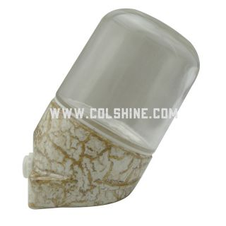 E27 waterproof porcelain lamp 401 marble color