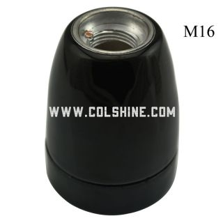 lampholder with M16 metal entry