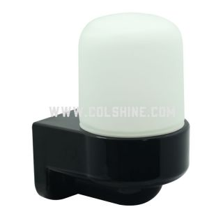 E27 Porcelain wall lighting black color-402