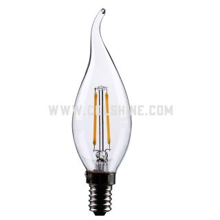 filament led candle light bulb