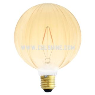Globe shape led filament bulb E27